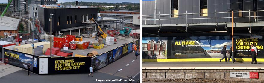 Network rail approved hoarding